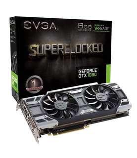 EVGA GTX 1080 Superclocked