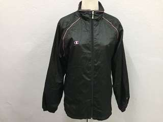 Champion Women Nylon Jacket black