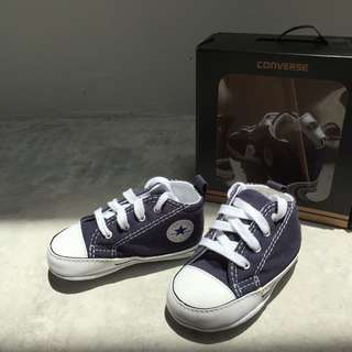 CONVERSE CRIB NAVY (size: UK 3)