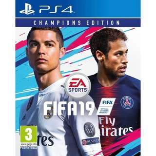 PS4 FIFA 19 Champions Edition Preorder