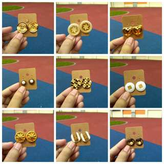 Handmade vintage earring