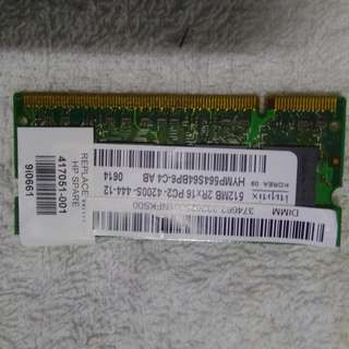 HYNIX  512MB  PC2-4200S