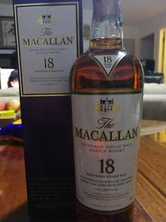 Macallan 18 - 2017 Sherry Oak(威士忌 Whisky)