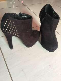 ❤️❤️❤️High Heels Boot Studded XXI