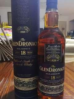 Glendronach 18 (威士忌 Whisky)