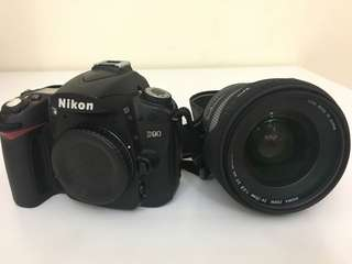 Very good condition D90 with Sigma 24-70mm lens made in japan purchased in Dubai