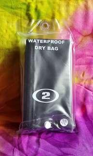 NEW 2L Waterproof Dry Bag - Black/Blue (Bangkok)