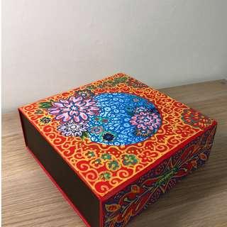 Peony Themed Re-Used Box