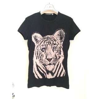 "Dolce & Gabbana  ""Tiger"" Printed T-SHIRT  印花短袖衫 **意大利製造Made in Italy"