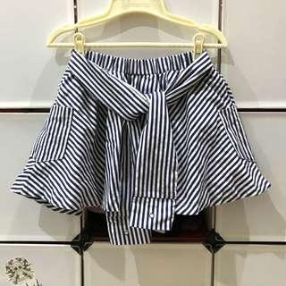 🚚 條紋褲裙