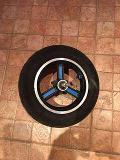 Escooter Front 10inch Wheel