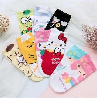 Sanrio Ankle Socks
