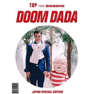 [日本特別版]T.O.P - DOOM DADA JAPAN SPECIAL EDITION (CD+DVD) + PHOTOBOOK