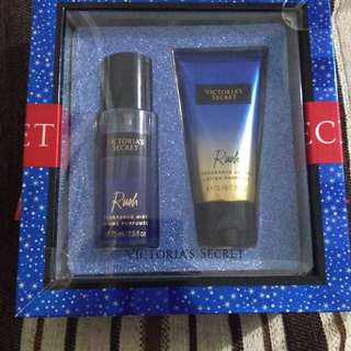 Victoria's Secret Rush Body Mist & Lotion Gift Set