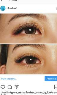 Eyelash extensions & Lash Lift