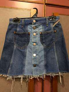 Jean Atelier Eloise Denim Mini Skirt