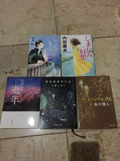 Various Japanese Novel (full of kanji)
