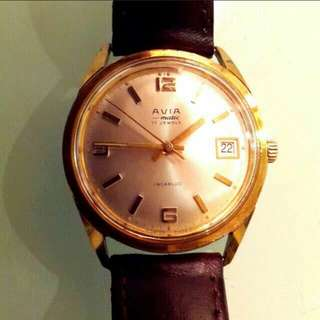 AVIA Antique Swiss Made Automatic Watches