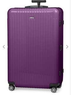 Rimowa salsa air four-wheel suitcase 73cm ultra violet 91L
