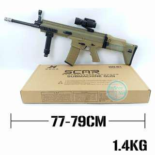 ⚠TEMPORARY OUT OF STOCK⚠Gel Blaster AEG Gun Scar Version 1