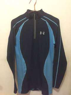 Original Under Armour Baselayer / Jersey Sepeda Glow in the dark