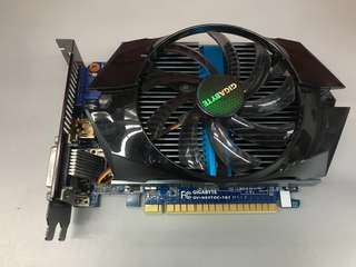 已清潔 GIGABYTE GTX 650TI OC 1GB GDDR5
