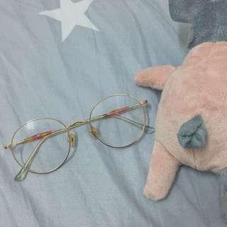 🚚 金框眼鏡