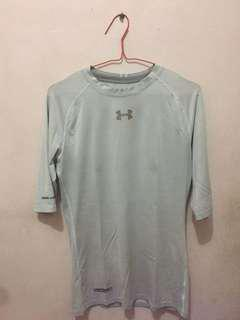 Original Under Armour Grey Short Sleeve Baselayer