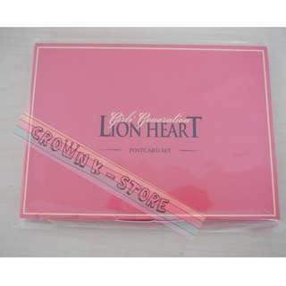 [CRAZY DEAL 90% OFF FROM ORIGINAL PRICE][READY STOCK]GIRLS GENERATION SNSD KOREA LION HEART OFFICIAL POSTCARD SET; ORIGINAL FR KOREA (PRICE NOT INCLUDE POSTAGE); POSLAJU:PENINSULAR AREA :RM10/SABAH SARAWAK AREA: RM15