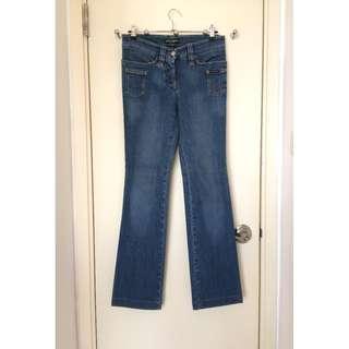 Dolce & Gabbana   Ladies Jeans    D and G金屬牌裝飾 彈性牛仔褲  @ Made in Italy意大利製造
