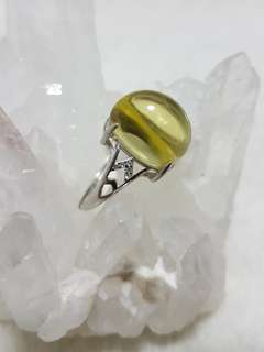 ⭐Ring (Libyan Desert Glass*利比亚黄金陨石)