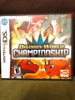 Nintendo DS Digimon World Championship
