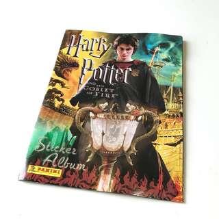 Harry Potter and the Goblet of Fire Sticker Album 哈利波特火盃的考驗貼紙簿
