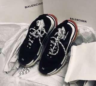 Balenciaga Triple S Black Sneaker Size39