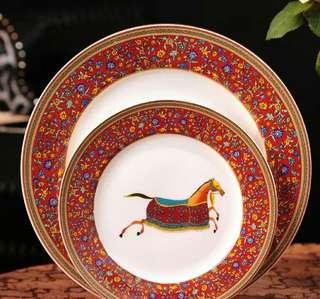 Hermes Set Plate