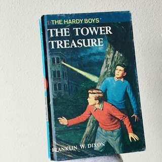 Hardy Boys book 1 The Tower Treasure