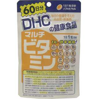 日本製 DHC 綜合維他命補充食品 60日份 (60粒 )