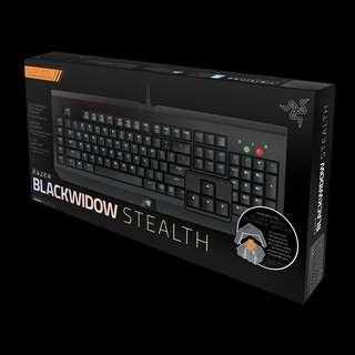 BNIB SEALED Razer Blackwidow Stealth Mechanical Keyboard (Non Backlit)