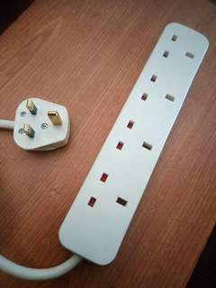 IKEA KOPPLA 20016 Power Extension Cord with 4 Outlets