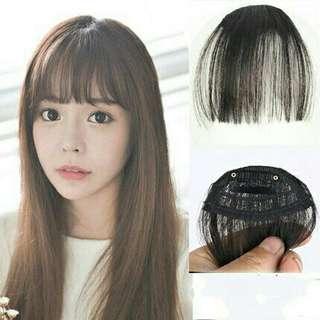 Sexy Clip in Bangs Fake Hair Extension Bangs Hairpiece False Hair Piece Clip