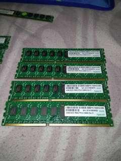🚚 共8支/DDR3/4g/ecc/伺服器拆機品