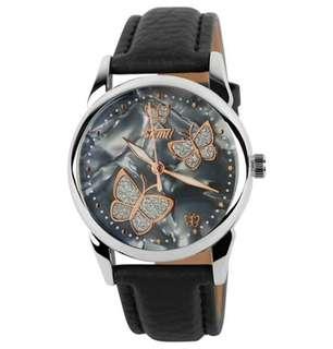 SKMEI 9079 Women Butterfly Quartz Wristwatch