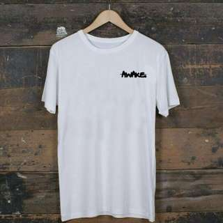 "T-shirt ""Awake"" Because Simple Is Cool"