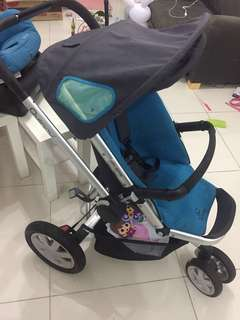Stroller quinny buzz with maxi cosi car seat