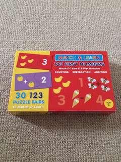 Math puzzles pre-school