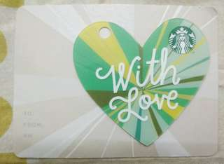 Starbuck Card Limited Edition RM30