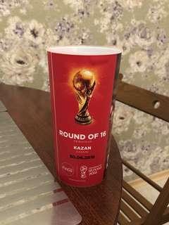俄羅斯世界盃世界杯16強阿根廷對法國限量紀念杯
