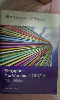 Singapore Tax Workbook 2017/18 20th Edition by Sum Yee Loong
