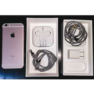 Apple iPhone 6s Rose Gold 64GB FACTORY UNLOCKED (OPEN LINE)