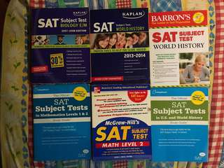 🚚 SAT exam study guide books - Official SAT publisher CollegBoard, Kaplan, Barron's, McGrawHill
